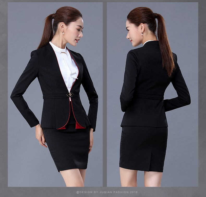 2017 fashionable style formal office uniform design office for Office uniform design 2016