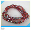 Bling AB Crystal Beads Red Color Round Glass Beads Wholesale for Jewlery DIY 6x6 mm
