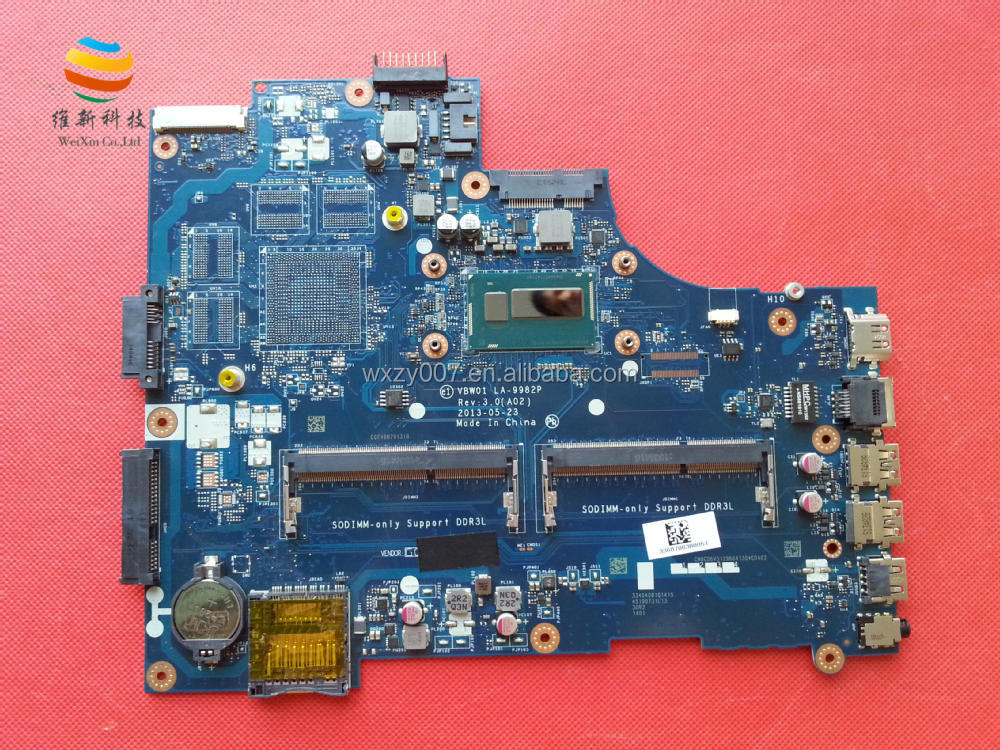 Buy Original laptop motherboard for DELL 15R 5537 VBW01 LA-9982P ...