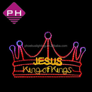 Jesus King of Kings LED Crown Light