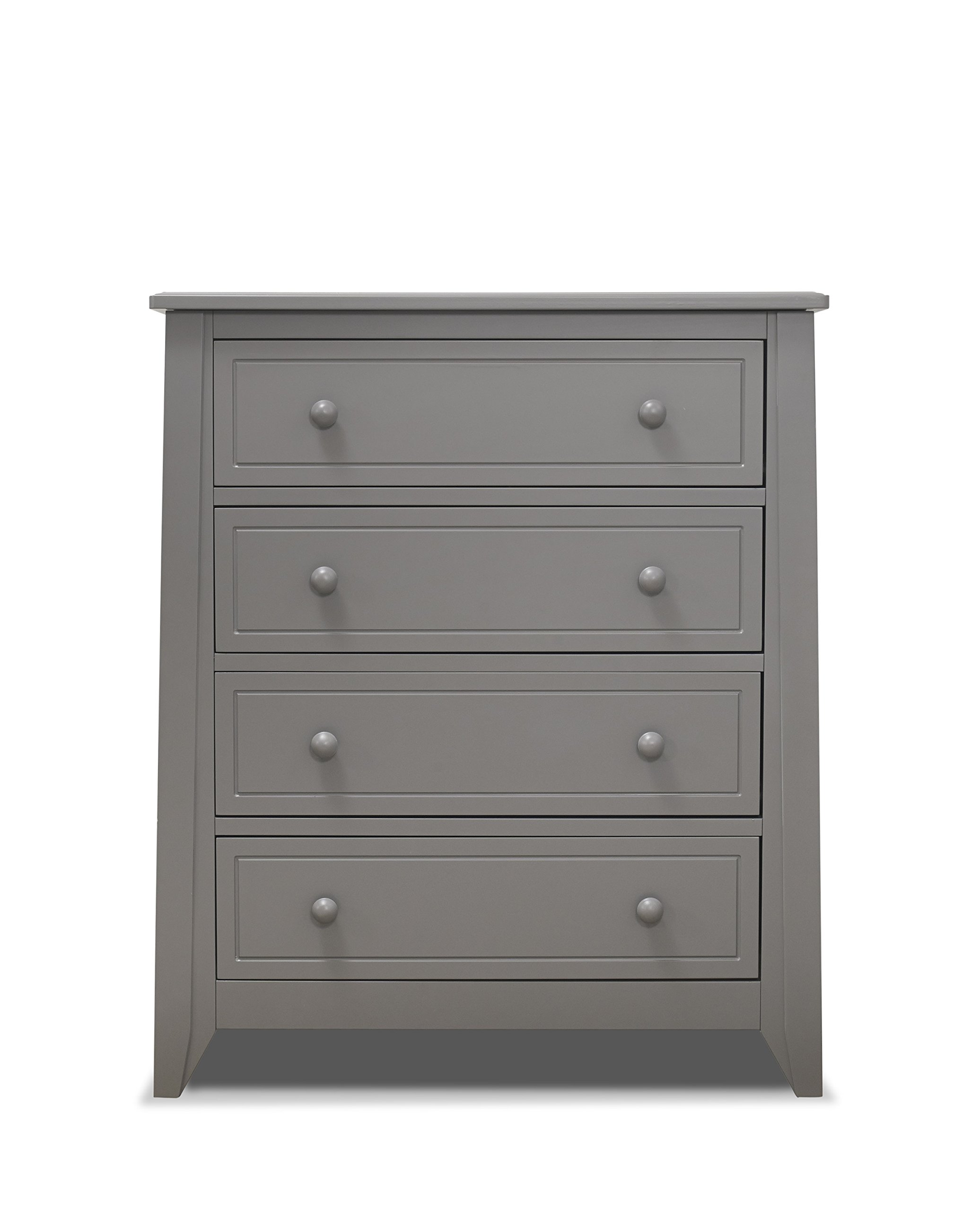 Get Quotations Sorelle Brittany 4 Drawer Dresser Grey