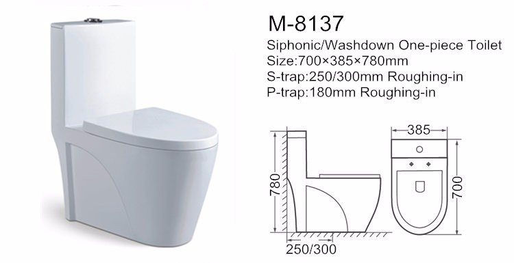 Chaozhou brand gravity flushing ivory bathroom toilet