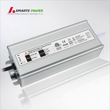 waterproof IP67 aluminum case 100w led driver ac dc 12v 8a power supply