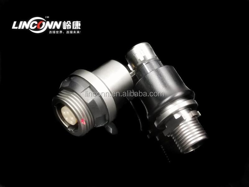 Circular 12 Pin Waterproof Connector China Metal Connector ...