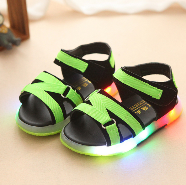 Kids Girls Sandals Sneakers Shoes Toddler Little Kids LED Shoes
