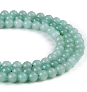 Green Aventurine faceted round beads natural gemstone wholesale