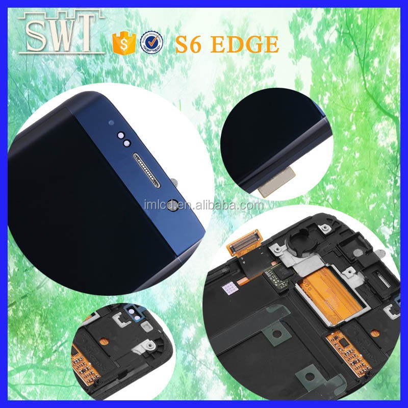 Phone accessories mobile black lcd touch screen for Samsung galaxy s7 edge g935 from China
