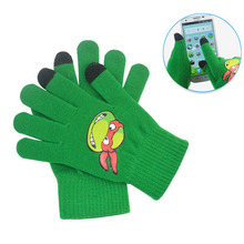 2016 women men touch screen soft cotton winter gloves