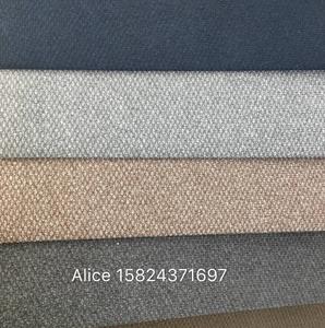 wholesale sofa bric /new design linen  velvet knited design  for 100% polyester sofa fabric