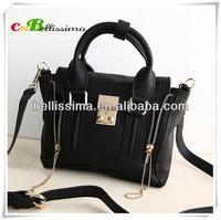 Lady's new trend genuine leather handbag /tote bag/ shoulder bag /diagonal bagKL032802