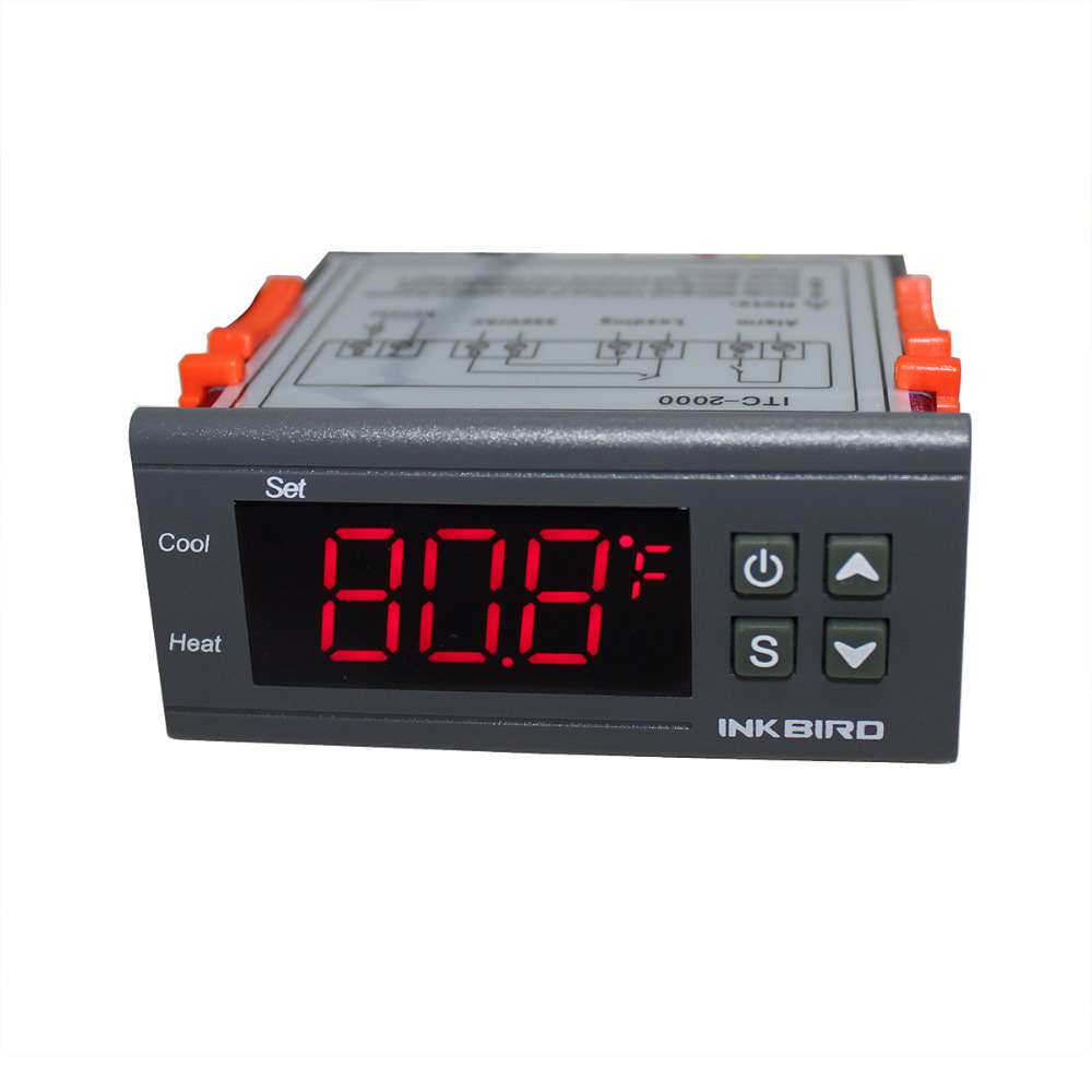 Inkbird Itc 2000 Digital Refrigerator Thermostat Buy K59 Wiring Diagram Thermostattemperature Controllerthermostat Product On