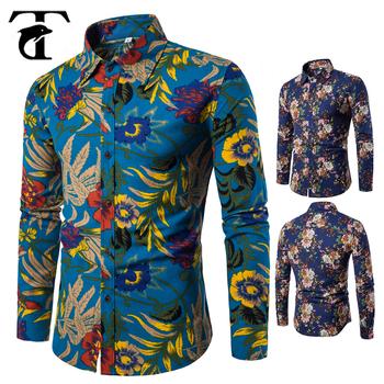 Best Men Dress Shirt Latest Linen Printed Designs For