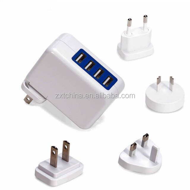 Tipe C PD USB 18W Charger Dinding QC3.0 Travel Charger USB Cepat Pengisian 5V 3A 5V 2.4A Dual USB Port Cepat Charger Cepat
