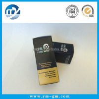 Custom printed 10ml pharmaceutical vial paper packaging box with hologram effect