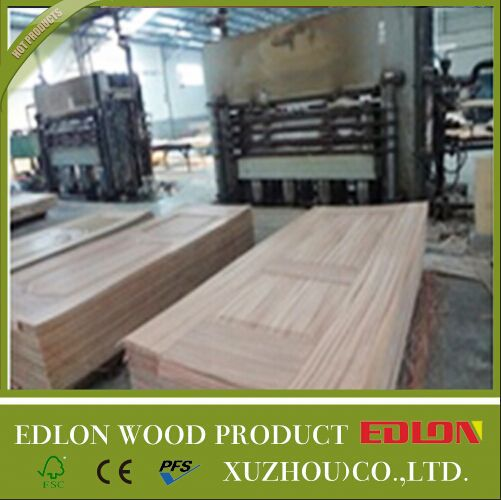 3mm mdf moulded door skin modular kitchen cabinets