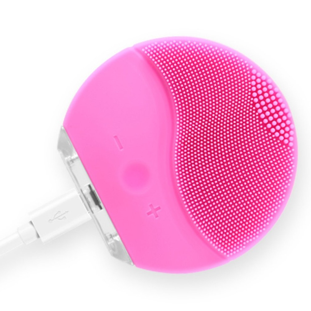 Beauty personal <strong>care</strong> equipment <strong>tools</strong> ultrasonic electric <strong>facial</strong> silicone cleansing brush 2019