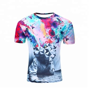 Bangladesh Manufacturing Custom Design Sublimation Printing Men's T Shirt