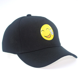 Wholesale Unisex Naughty Face Funny Adjustable Snapback Emoji Hat Baseball Caps