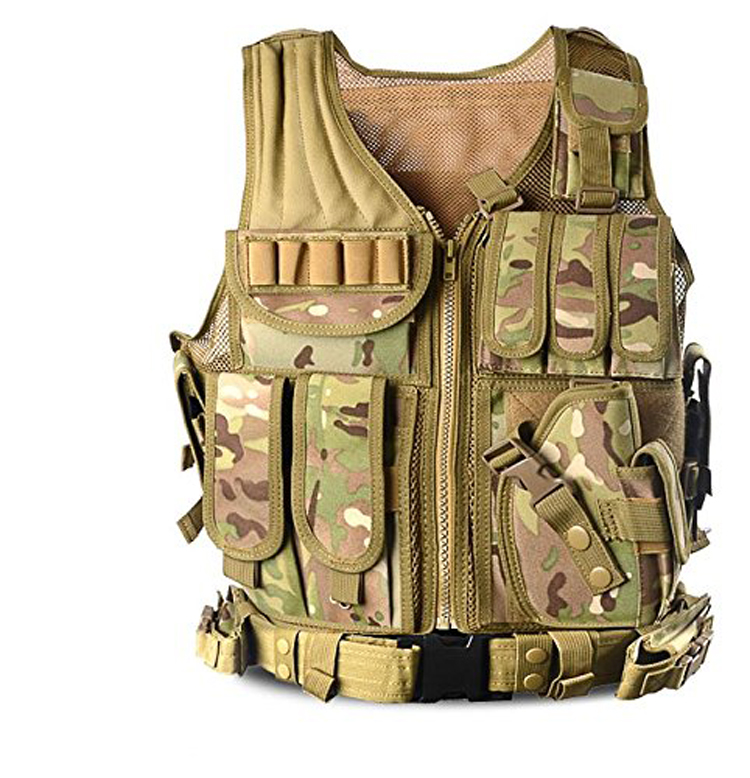 Outdoor Protective Military Training Gilet Equipment Safety Cs Field  Breathable Combat Army Outdoor Molle Police Tactical Vest - Buy Police  Tactical