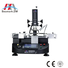 China factory price Zhuomao ZM-R5860 3 heating zone bga rework machine for game console and mobile phone motherboard repairing