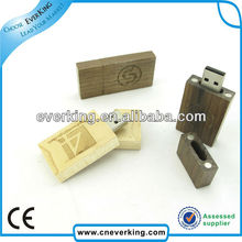 eco friendly wood usb memory stick with high speed