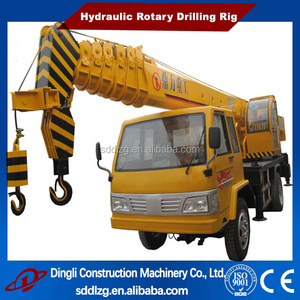 telescopic boom truck mounted crane High quality 10Ton for sale DL-10A
