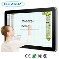 65 Inch IR Optional touch interactive whiteboard For Government