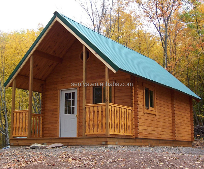 2017 new design granny house prefabricated log cabin with the best price