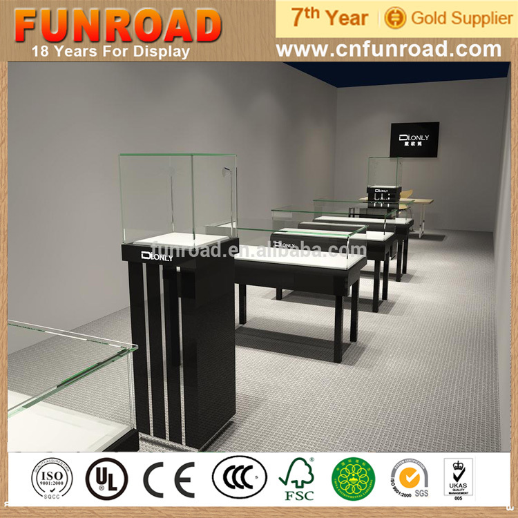 Special Design Jewelry Display Counter And Glass Case From Chinese ...