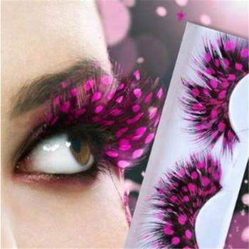 0bb38c00b29 Color Feather False Eyelashes Eye Lashes, View False Eyelashes, OEM ...