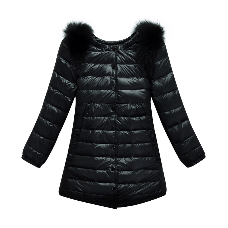 78158f601058 Get Quotations · 3-9T New sale Kids winter duck down coat girls o neck  feather red coat