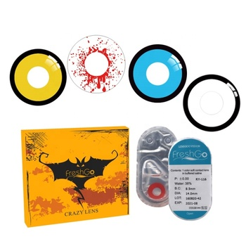Wholesale Manufacturer Crazy Contact Lens for Halloween