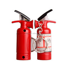 Mini Cigarette Keychain Lighters Creative Fire Extinguisher Annihilator Fuel Bushcraft Match Hike Gas Lighter Disposable