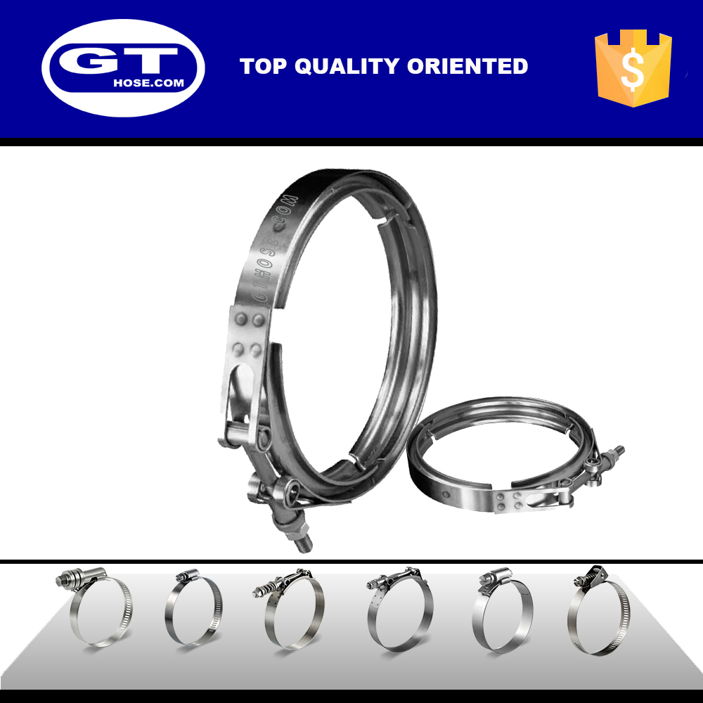 BB5 Custom Stainless steel  V band exhaust hose clamp