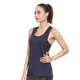 Wholesale dry fit gym wear women breathable gym tank top sports fitness loose tanks top