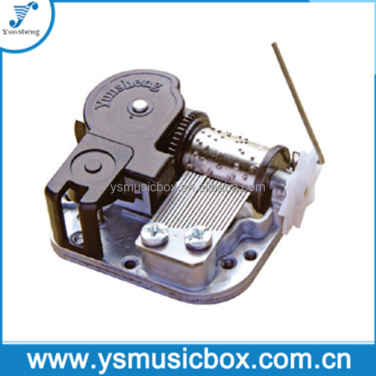 Yunsheng Musical Movement with rocking wire arm for mechanical music box