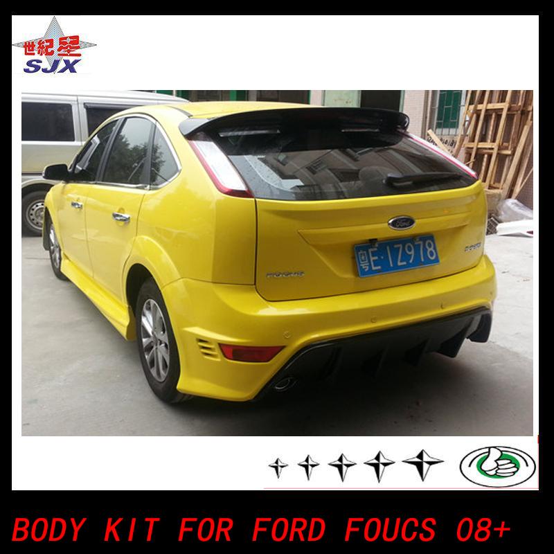 Ford Focus Body Kit >> Body Kit Lip Spoiler Forford Focus2 0r 2008 2013 Rs Style Spoiler Rs Bodykit Bodykit Buy Rear Spoiler For Fordfocus Ford4bodykit Rear Spoiler For