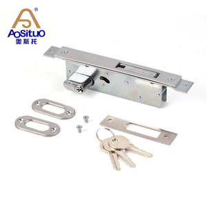 high security iron material mortise door lock body
