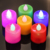 Flameless Candles Amber Decorative Led Electronic Candle Light/Yellow Led Tea Lights/Romantic Express Love Home Decor