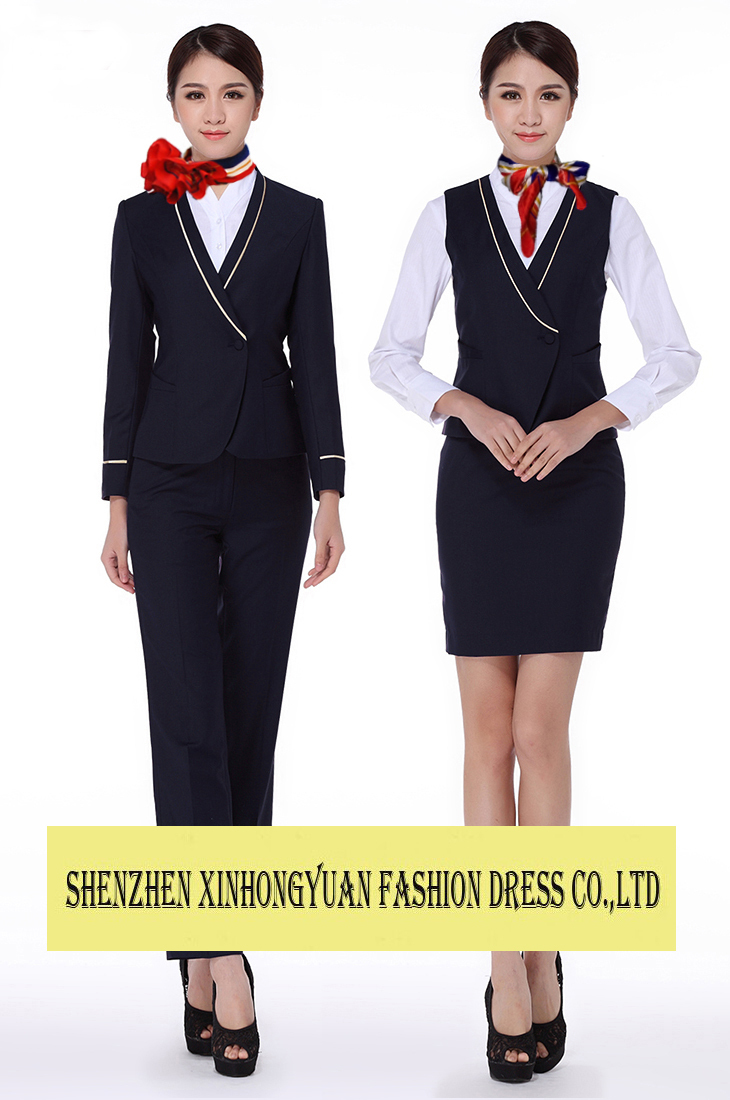 China Eastern Airlines Airline Stewardess Uniform