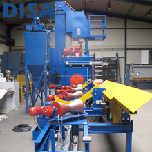 Steel Tube and Gas Cylinder Shot blaster abrasive blasting equipment