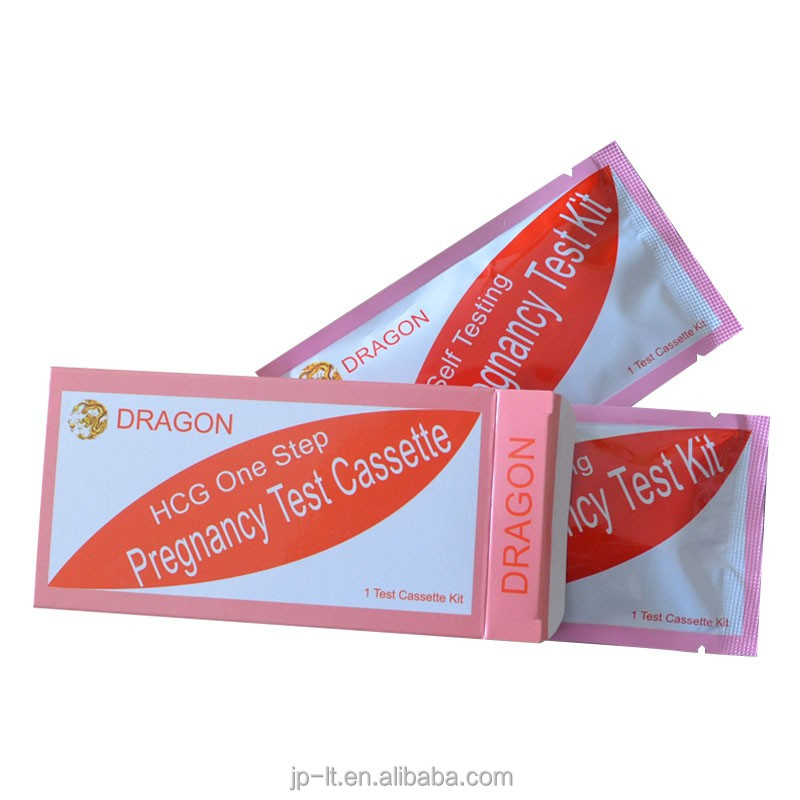 health care product pregnancy test with multi formats