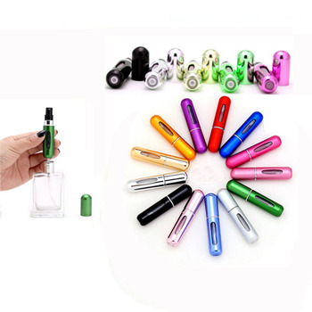 Hot  Selling Easy to carry freely Perfume Bottles With Sprayer Pocket Perfume Spray Bottles Refillable Bottle Atomizer
