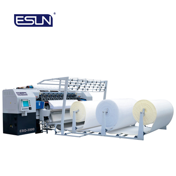 ESQ-3500 Computerized Multi Naald Quilten Machine