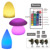 Nightlight rechargeable decorative Plastic led table light Lamp for restaurant Cafe shop