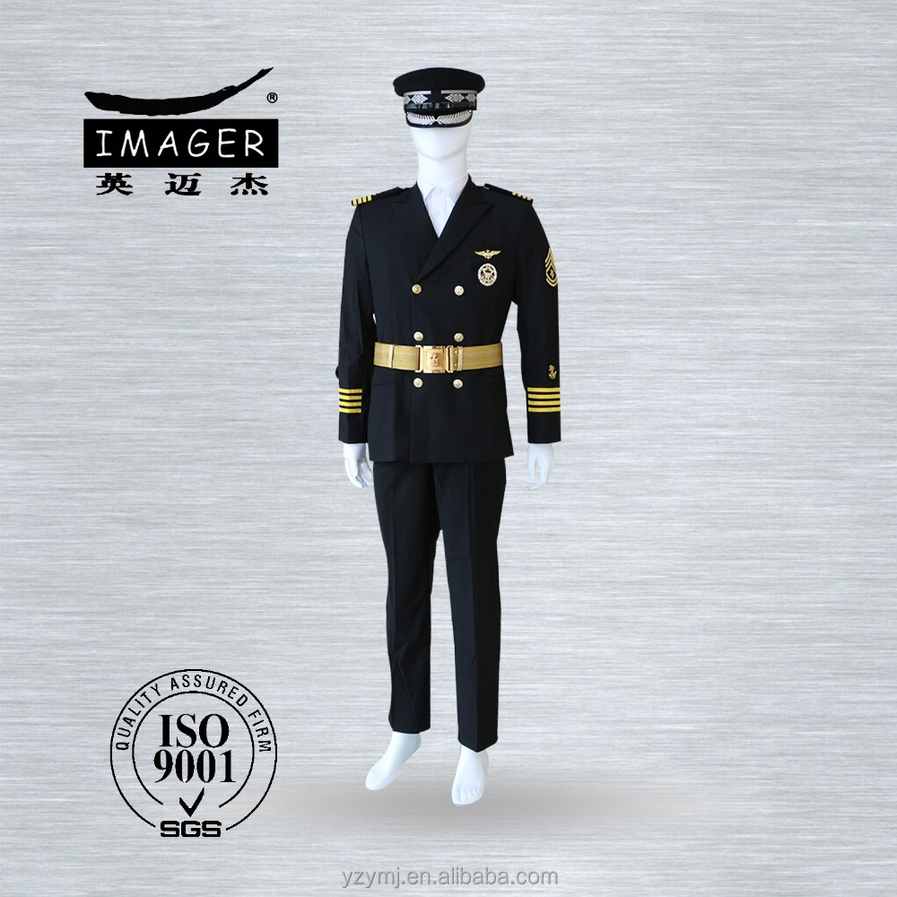 Flying military suit uniform for airlines and crew commanders