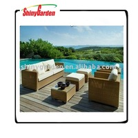outdoor rattan sofa.