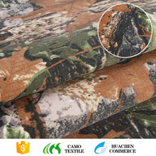 most popular low price shaoxing supplier custom printed tc twill realtree camouflage fabric