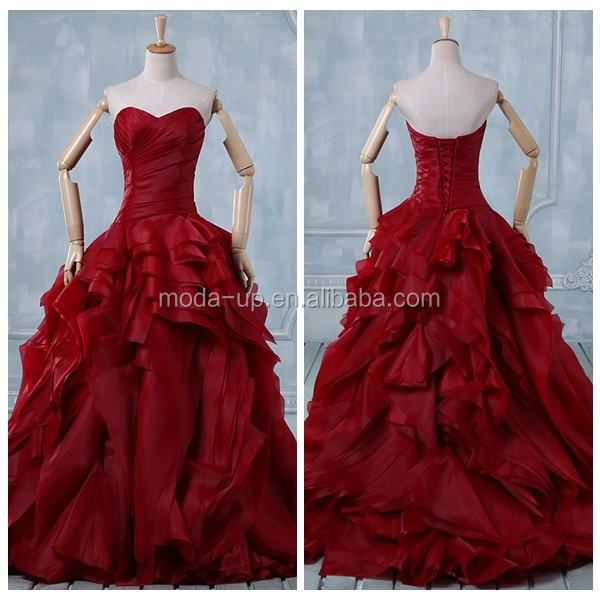 Wedding dresses for sale online china wedding dresses asian for Red and black wedding dresses for sale