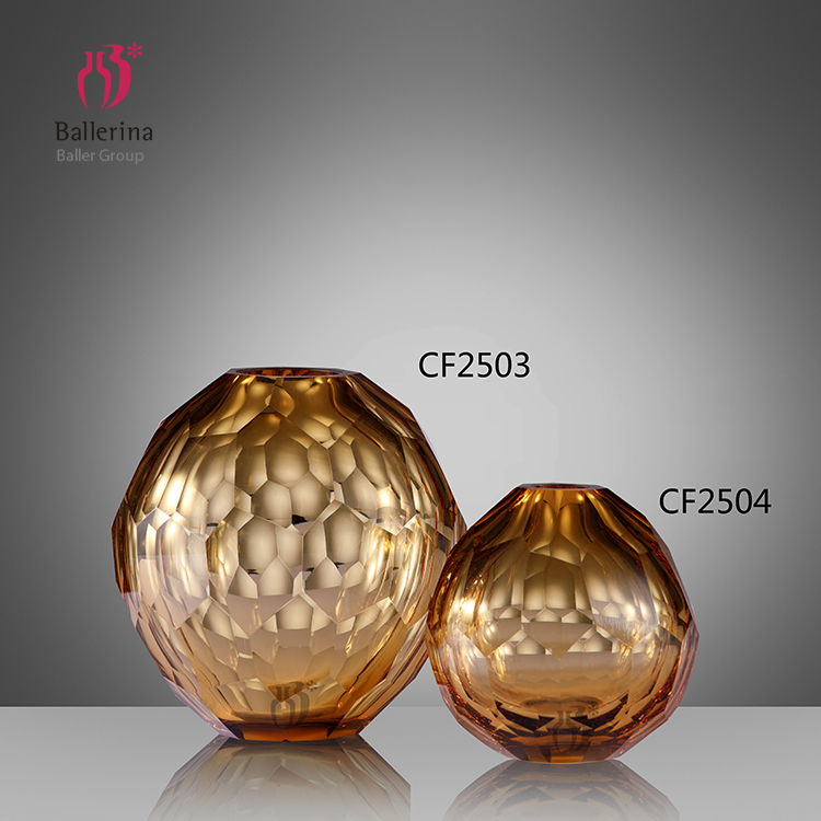 High quality wholesale home decoration modern glass vase